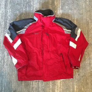 Columbia 3-in-1 Mens Ski Jacket - Large